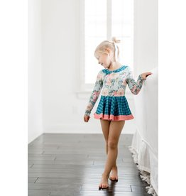 Be Girl- TwInkle Toes Leotard: Twirling Buds
