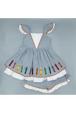 Evie's Closet- Color Me Cool Tunic Set