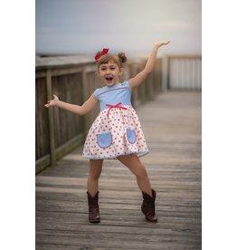 Evie's Closet- Sweet as Pie Apple Dress