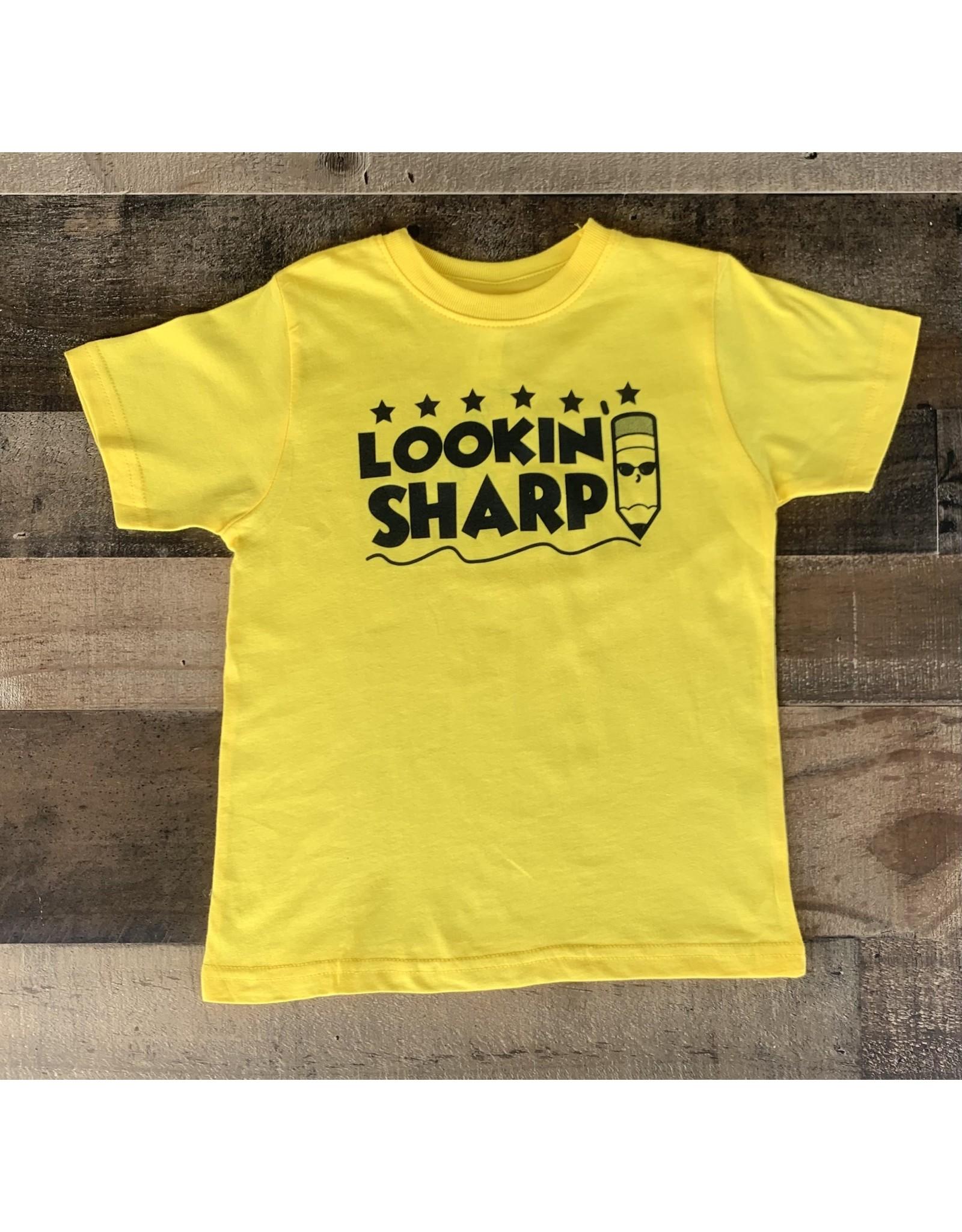 Lookin' Sharp Tee: Yellow