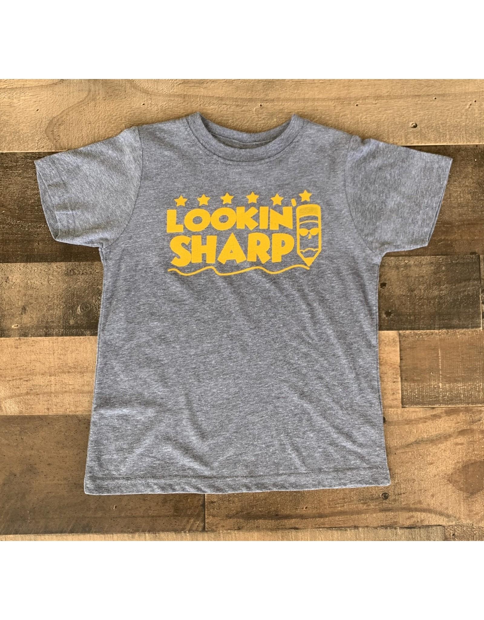 Lookin' Sharp Tee: Grey