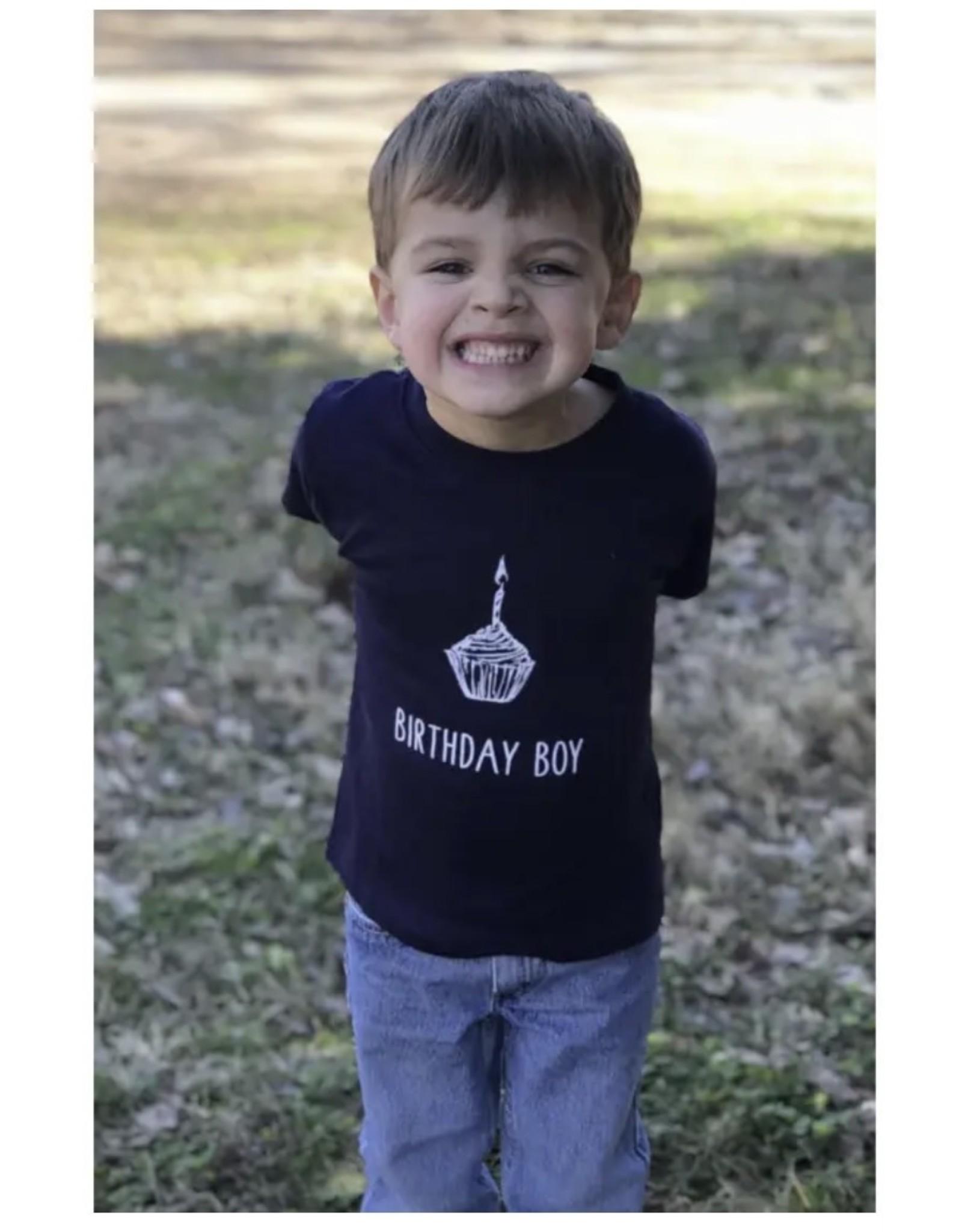 Little Hoot Designs- Birthday Boy Tee