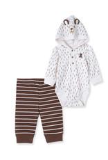 Little Me Little Me- Bear Bodysuit Set