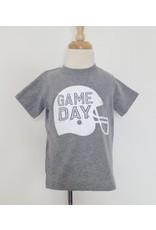 GAME DAY Helmet Tee: Grey