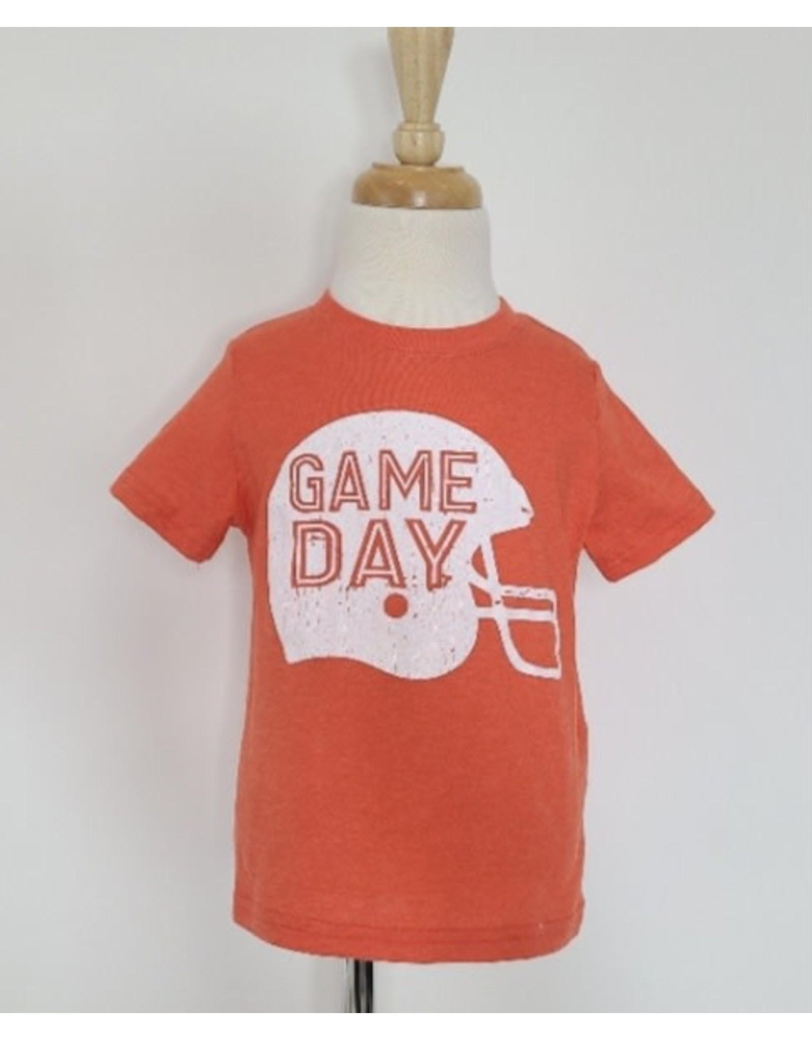 GAME DAY Helmet Tee: Orange