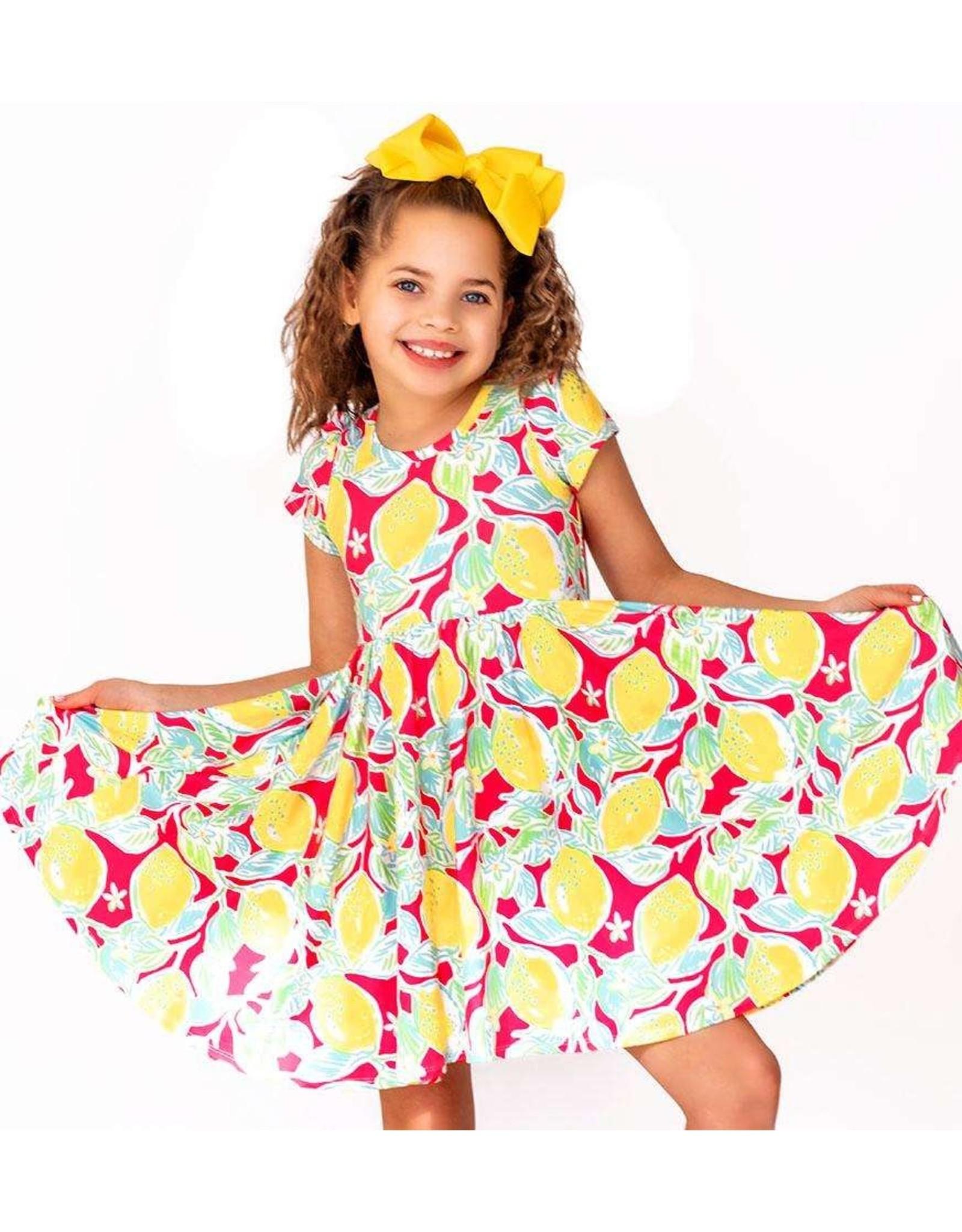 Charlies Project Charlie's Project - Pink Lemonade Soft Twirl Dress