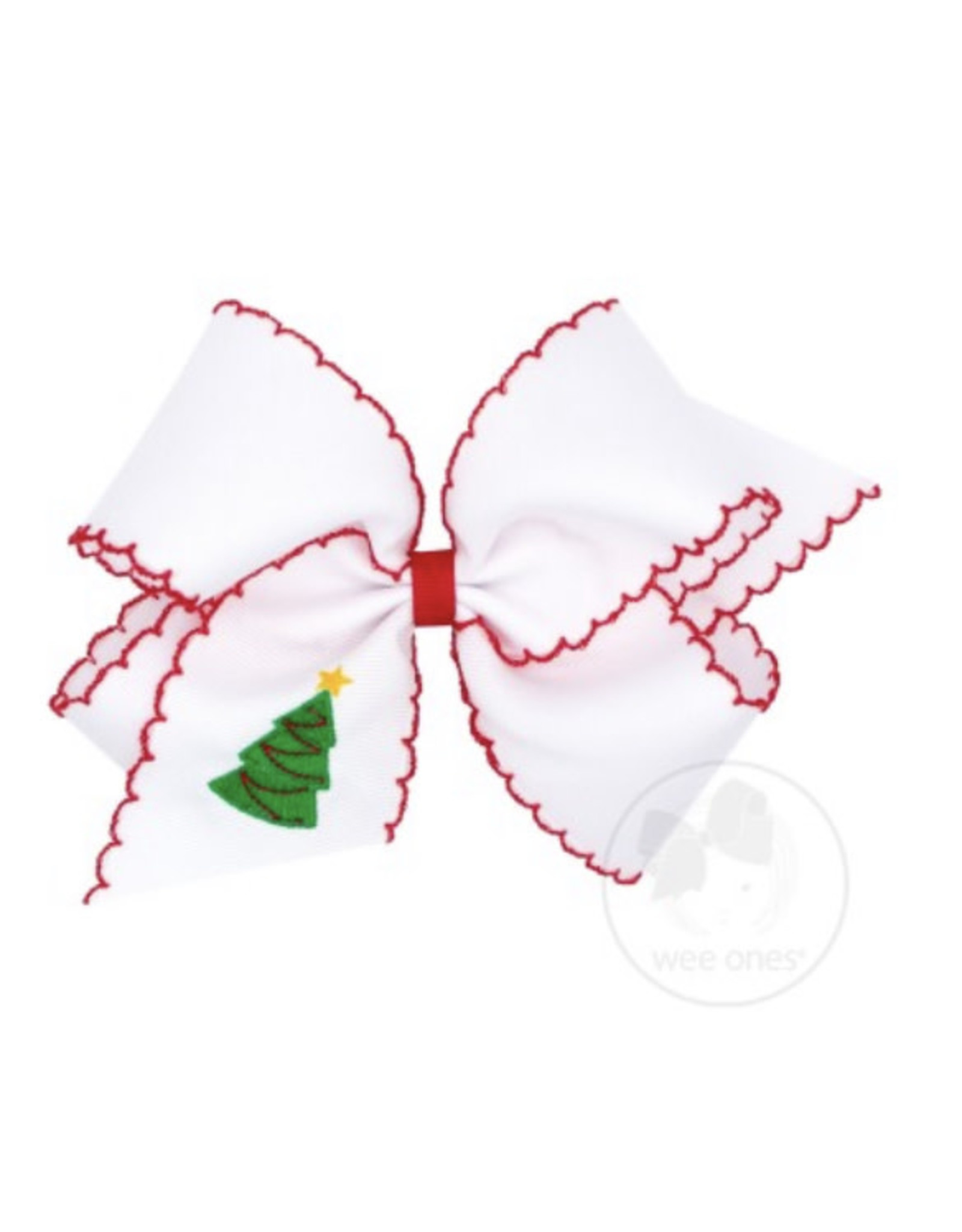 Wee Ones- King Moonstitch Tree Bow
