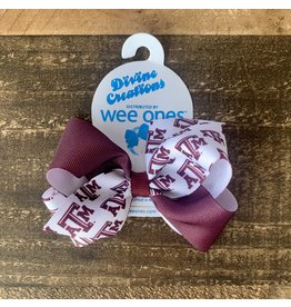 Wee Ones- Small Texas A & M Print Color Block
