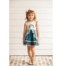 Evie's Closet- Autumn Rainbow Dress