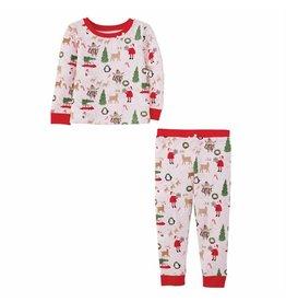 Mudpie Mud Pie- Girl Christmas Pajamas