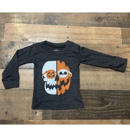 Wes & Willy- Pumpkin Glasses L/S Shirt
