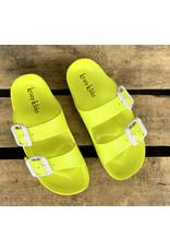 Lime Slide Sandal