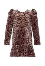Isobella & Chloe Isobella & Chloe- Wild Thing Velvet Dress: Pink