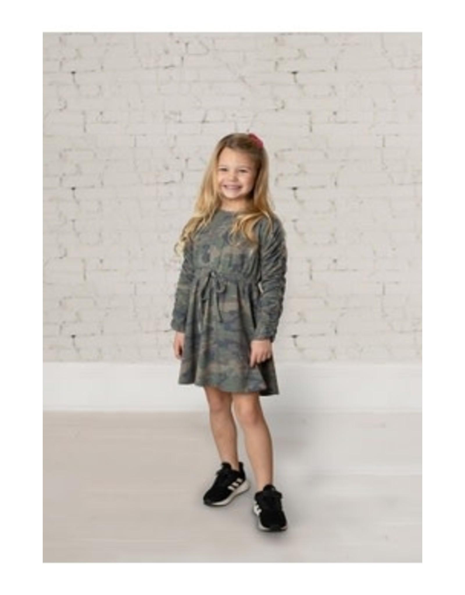 Mabel & Honey Mabel & Honey- Mini Explorer Knit Dress