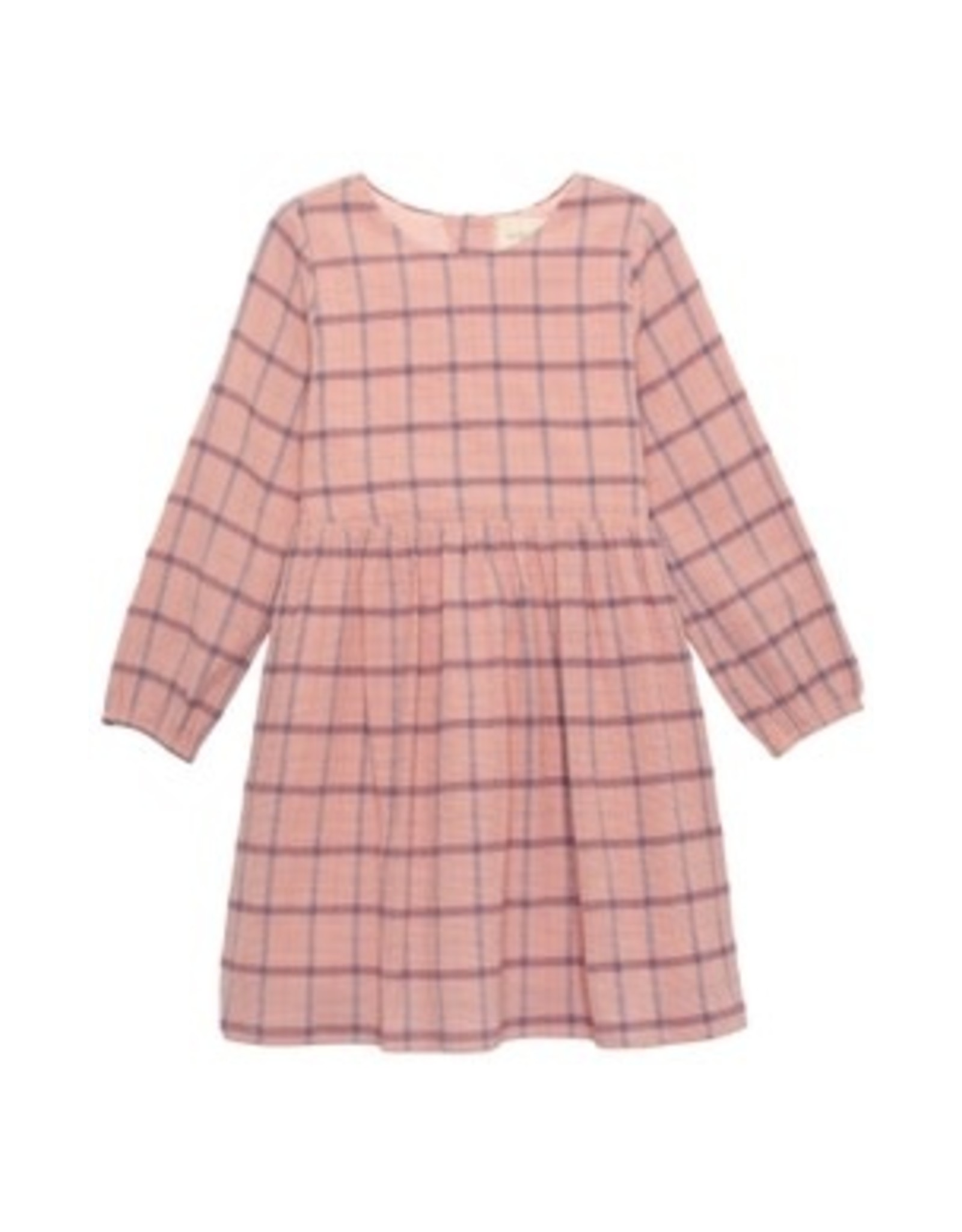 Mabel & Honey Mabel & Honey- Into the Field Woven Plaid Dress