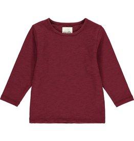 Vignette Vignette- Reese T-Shirt: Burgundy