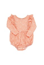 Be Girl Clothing Be Girl- Playset Bubble Romper: Pumpkin Pie