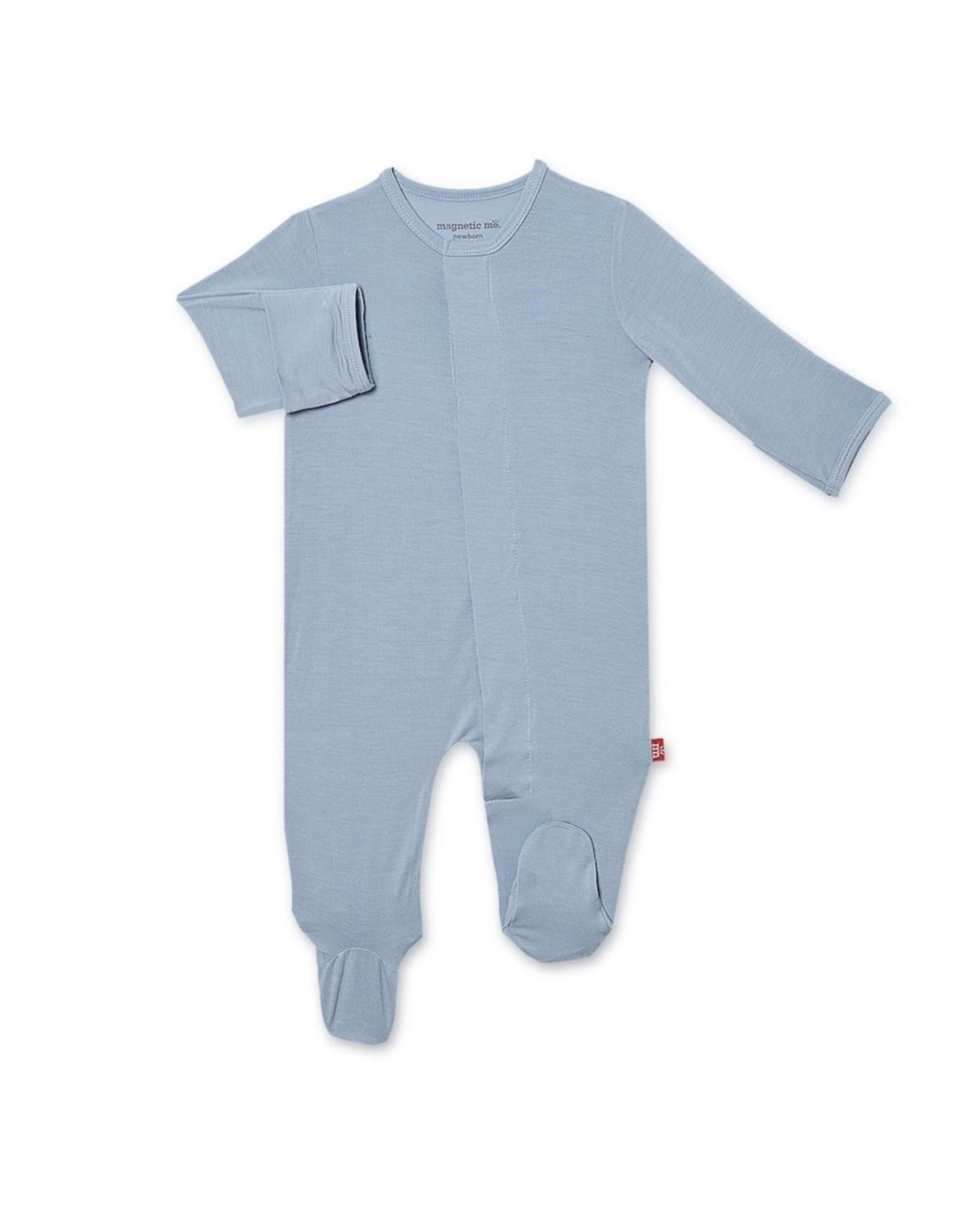 Magnetic Me Magnetic Me- Cool Blue Solid Modal Magnetic Footie