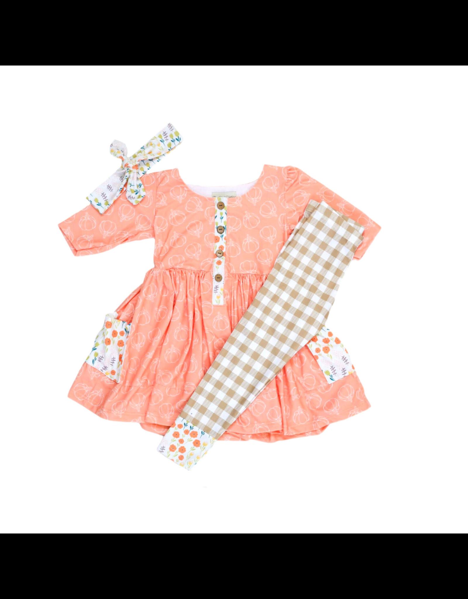 Be Girl Clothing Be Girl- Picnic Playset: Pumpkin Pie