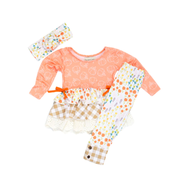 Be Girl Clothing Be Girl- My Girl Tunic Playset: Pumpkin Pie