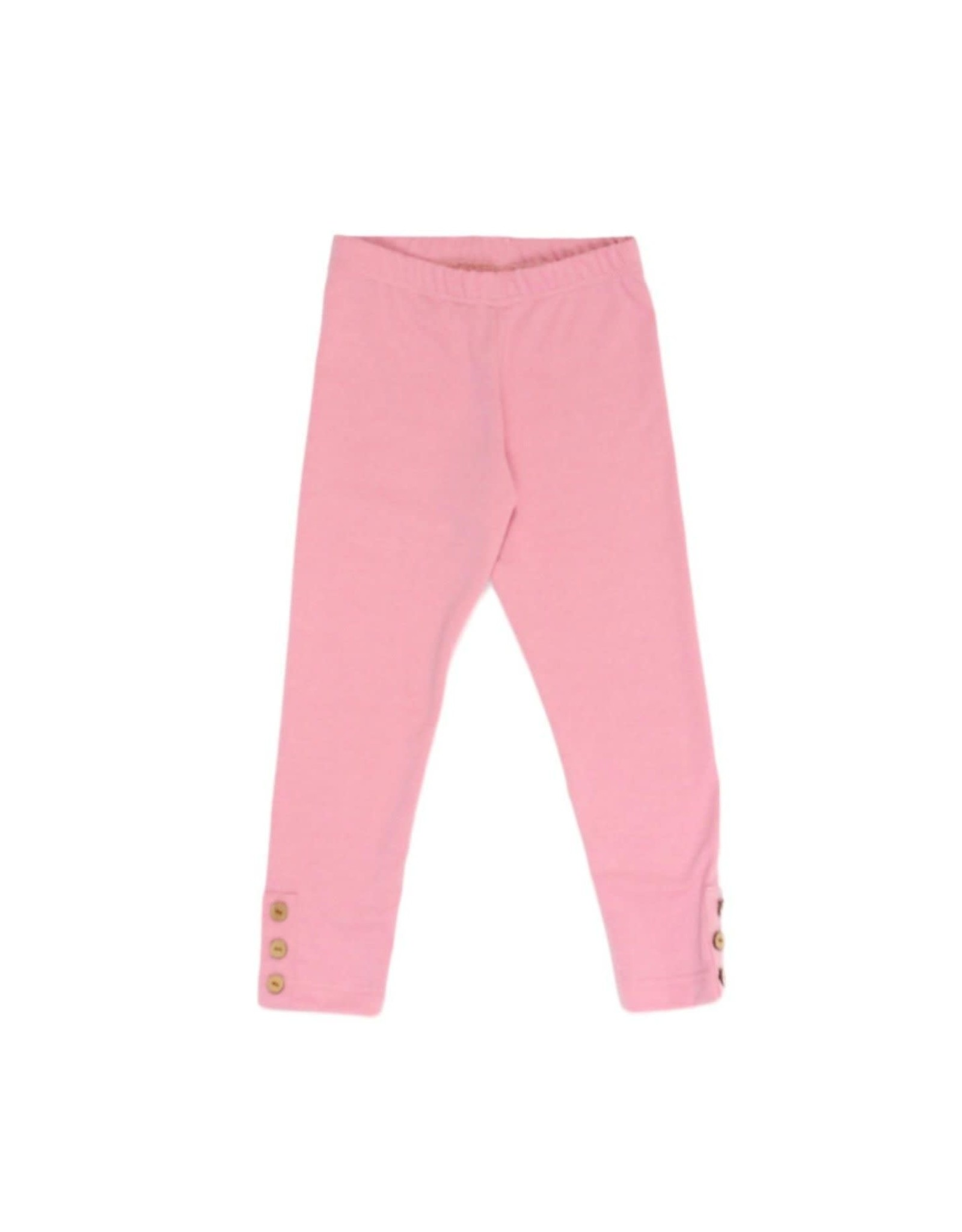 Be Girl Clothing Be Girl- Classic Button Leggings: Strawberry Spice
