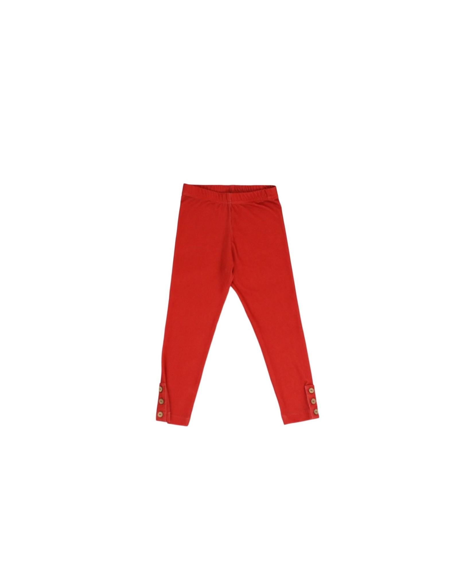 Be Girl Clothing Be Girl- Classic Button Leggings: Caramel Apple
