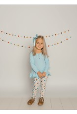 Be Girl Clothing Be Girl- Enchanted Tunic Set Blue Floral