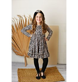 Serendipity Serendipity- Butterknit Leopard Dress w/Legging