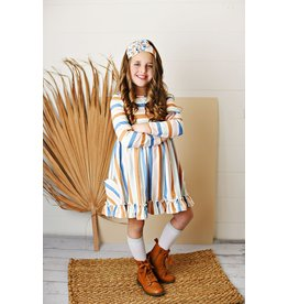 Serendipity Serendipity- Rainbow Stripe Dress