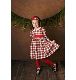 Serendipity Serendipity- Tartan Plaid Petal Dress w/Legging