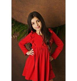Serendipity Serendipity- Red Bella Pocket Dress