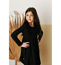 Serendipity Serendipity- Black Bella Pocket Dress