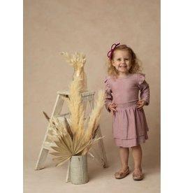 Isobella & Chloe Isobella & Chloe- Glitterbox Knit Dress: Pink