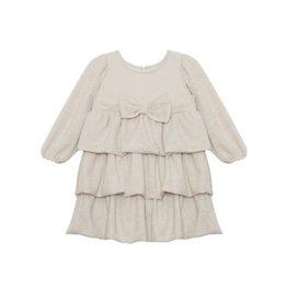 Isobella & Chloe Isobella & Chloe- Smile Sweet Girl Dress: Ivory