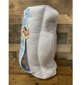 Ozark Mountain Kids Ozark Mountain- Baby Blue Seersucker Nap Mat