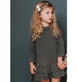Ren & Rouge Ren & Rouge- Oak Forest Gauze Ruffled Dress
