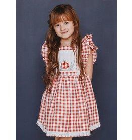 Ren & Rouge Ren & Rouge- Pumpkin Emb Dress
