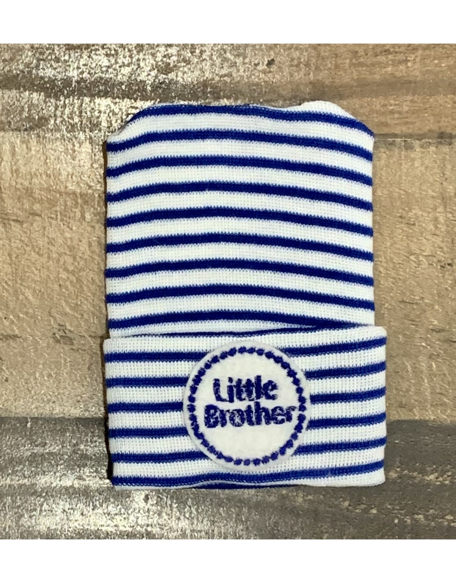 Cradle Cuties - Little Brother Blue Stripe