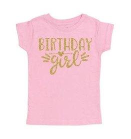 Sweet Wink- Birthday Girl S/S Shirt- Pink