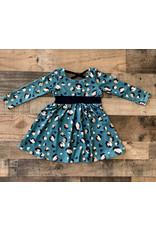 Jade Leopard Dress