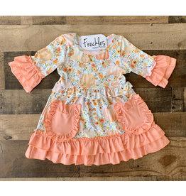 Shabby Chic Pumpkin Dress