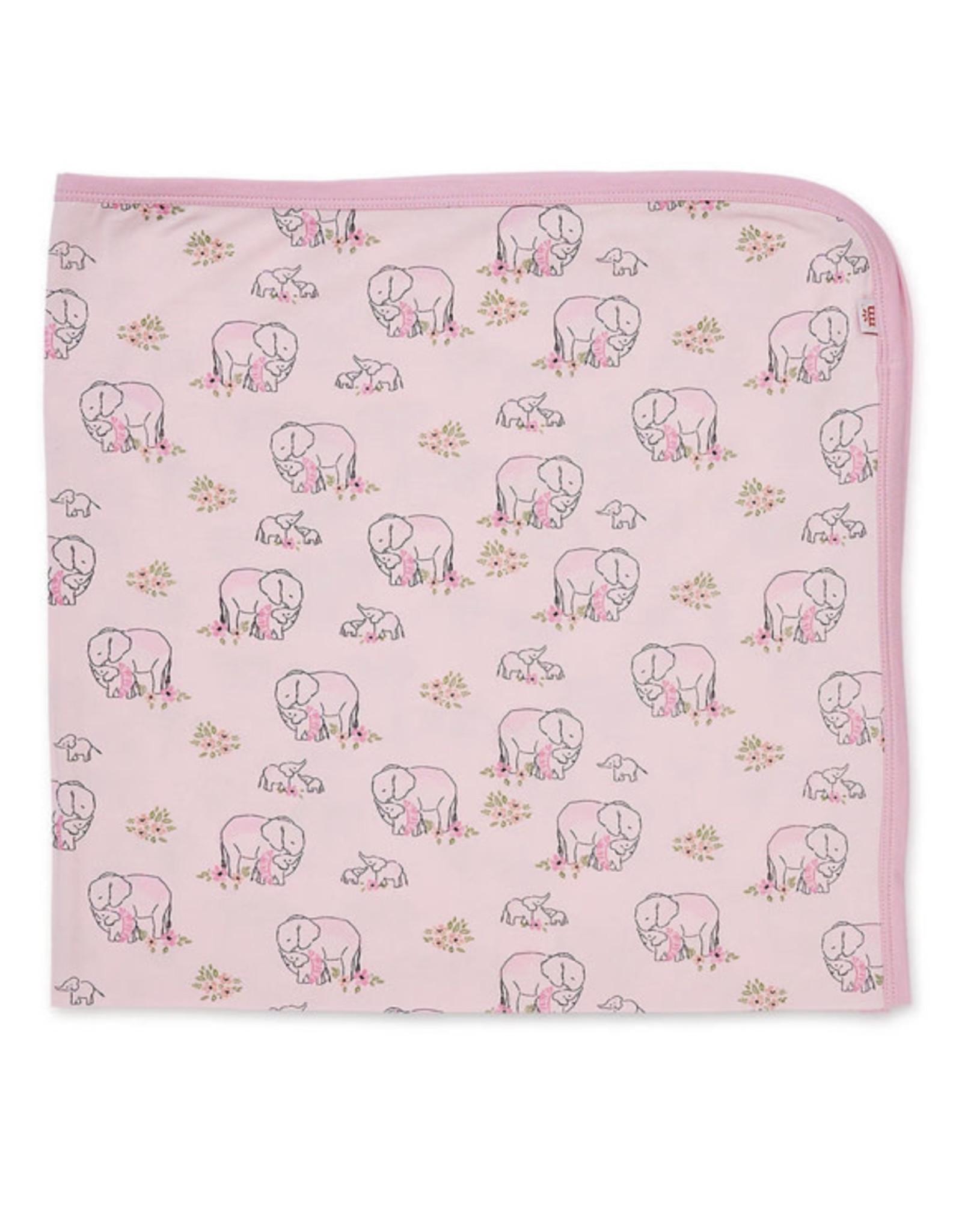 Magnetic Me Magnetic Me- Pink Love U Ton Modal Swaddle Blanket