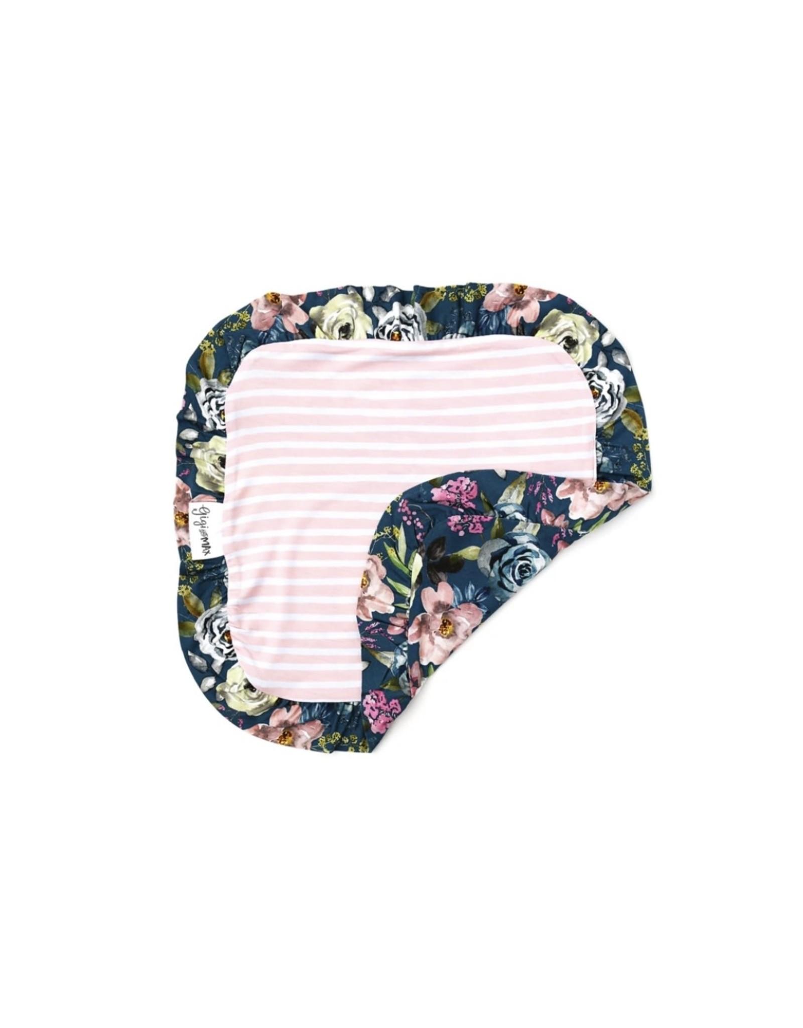 Gigi & Max Gigi & Max- Laken Floral Ruffle Lovey