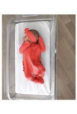 Gigi & Max Gigi & Max- Poppy Ruffle Newborn Zip & Headband Set
