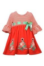 Bonnie  Jean Bonnie Jean- Pull Through Xmas Tree Dress