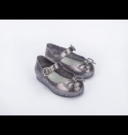 mini melissa Mini Melissa- Mini Sweet Love: Silver Glitter