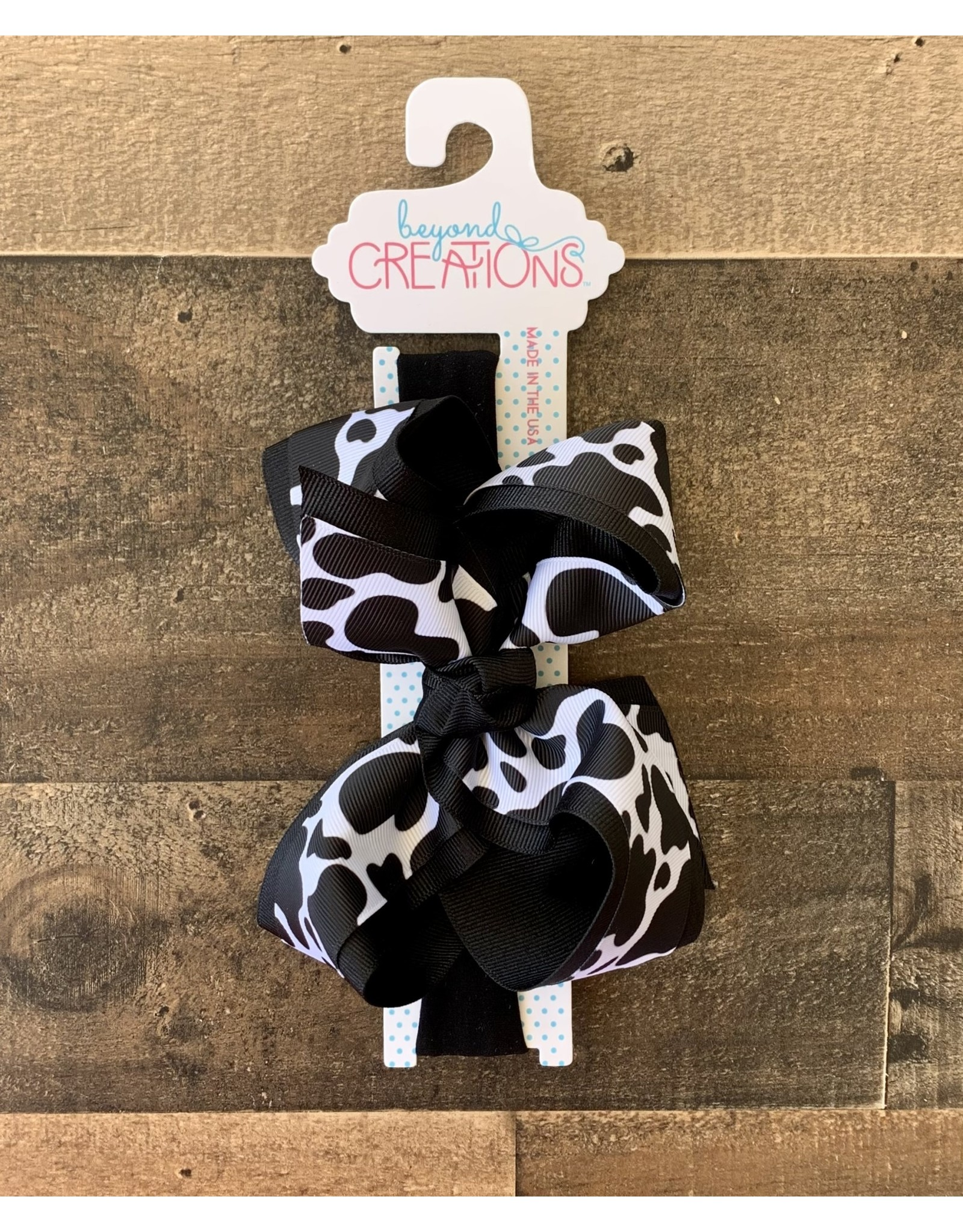 """Beyond Creations Beyond Creations- 5.5"""" Layered Cow Bow Pantyhose:"""