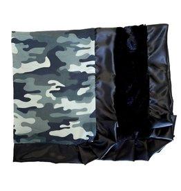 Rockin' Royalty Rockin Royalty- Camo/Black Blanket