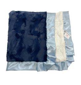 Rockin' Royalty Rockin Royalty- Navy Baby Blanket