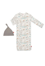 Magnetic Me Magnetic Me- Big Sky Modal Magnetic Gown Set (NB-3M)